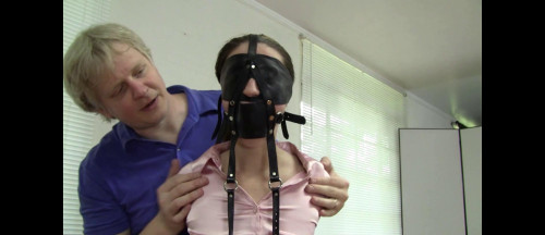 Constance- Leather Strap Hogtie for the Board Executives