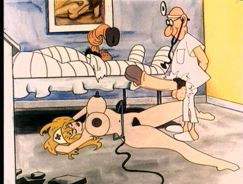 Cartoon about the loving doctor Cartoon Porn