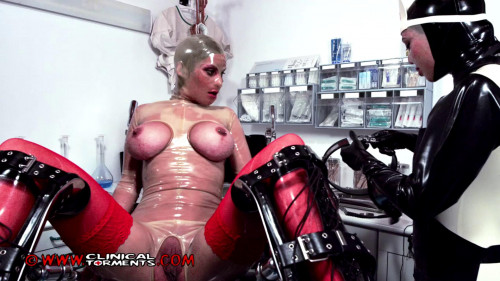 Clinical Tor - Pussy stretching part 2 BDSM Latex
