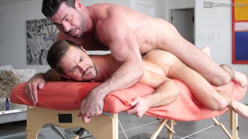 Greased Up Muscle Hunks (Mike de Marko & Billy Santoro)