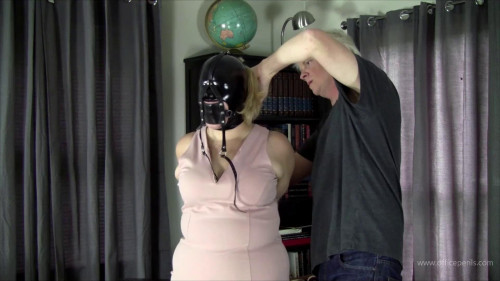 Pearl Rose - Hooded, Hogtied, and Left Bound
