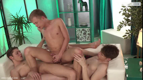 Raw Threesome Fuck For Hot Boyfriends Gay Porn Clips