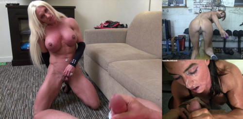 Female Muscle Pov Videos Part 1 (10 videos)