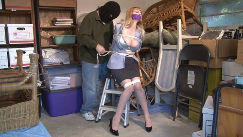 BigTit Captive Lorelei Attempts Escape BDSM