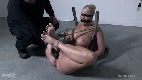Busty Slave London River Chaired & Punished