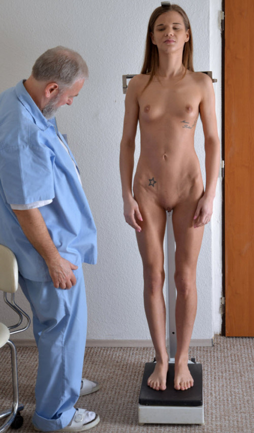 Sarah Kay (21 years girl gyno exam)