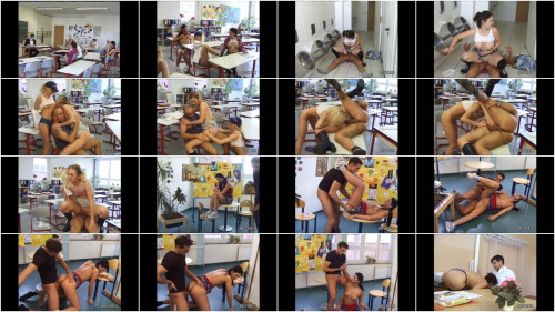 Perverse Schulmädchen – Perverse School Girls