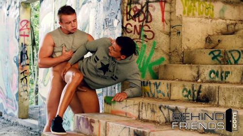 Behind Friends Sexual Graffiti - Boris Lang and Dom Ully