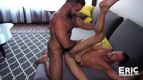 Brandon gets grabbed by Teddy in a park (Brandon Jones, Teddy Torres) Gay Clips