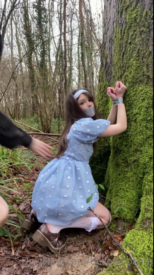 Belle Delphine Rough Fuck in the Woods