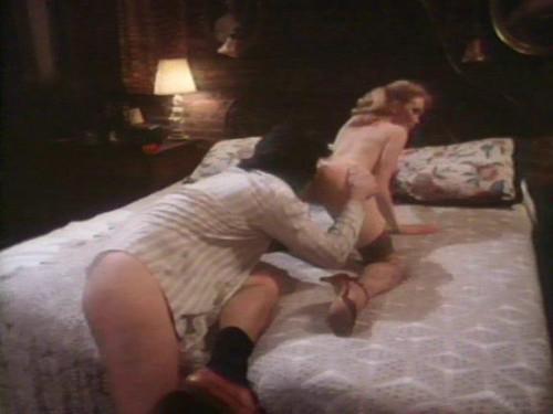 Blonde In Black Silk Vintage Porn