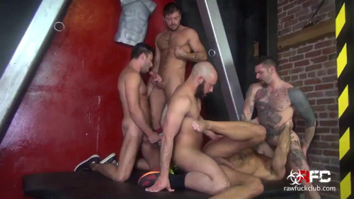 Wild Gangbang Party