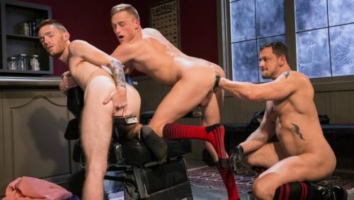 Fisty's Barber Shop, Scene 1 Gay Unusual