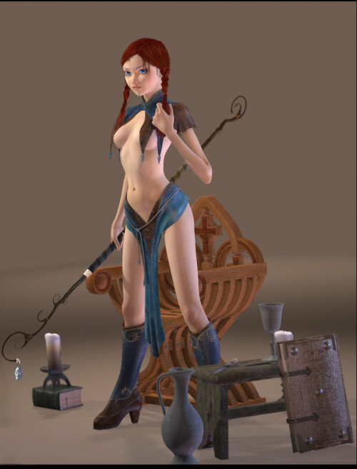 Stone Sorceress
