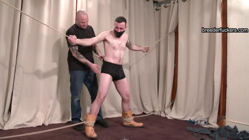 Gareth - spanked, shlong and balls restrained