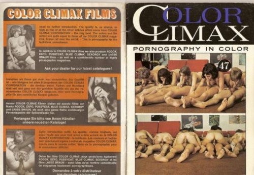 Color Climax magazines