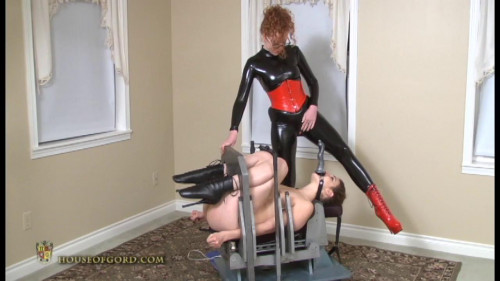 Chickvice Facefuck BDSM Latex