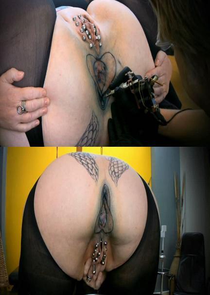 The tattoo on asshole!