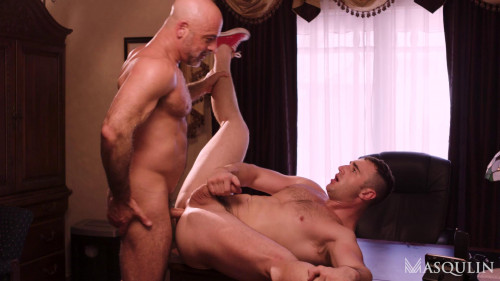 Adam Russo copulates Michael Bostons rectal hole 1080p