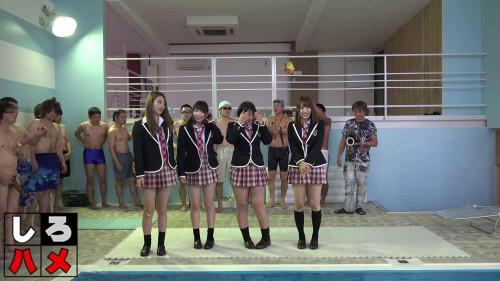 Fumika, Ami, Aika, Momo In The Naked Concert