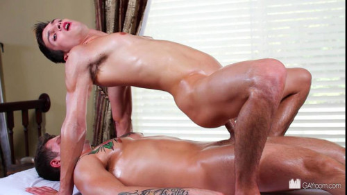 Getting massaged part  4