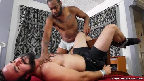 August Gets Off Tickling Mason