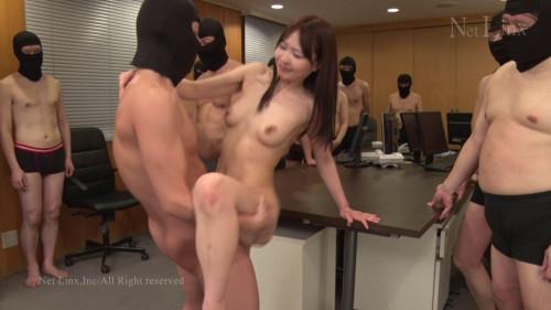 Big Gangbang Office Lady Surprise Fuck Pt. 2 - Mana Koike - 1080p