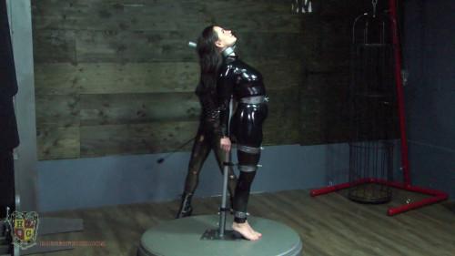 Kora meets The Rembrandt of Restraint bondage
