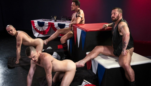 World Series of Fisting, Scene 06 Hugh Hunter, Axel Abysse, Joey D, Sam Syron (2017)