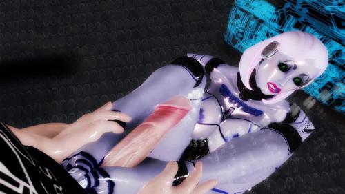 Virtual Robo Pussy Fuck 3D Porno
