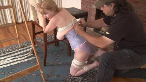 Strung Up By Her Thighs - includes Behind The Scenes