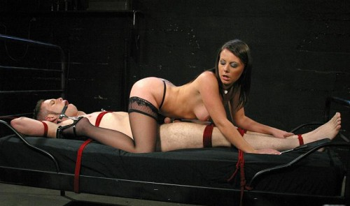 Wolf Hudson and Penny Flame - Seductive Interrogation