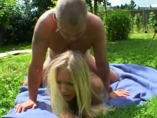 Sex terror outdoors