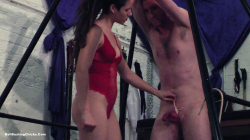 Mistress Pip - 20 punches in the Balls Femdom and Strapon