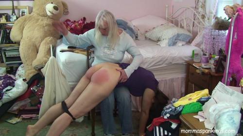 MommaSpanking - Punished afresh poor sarah full