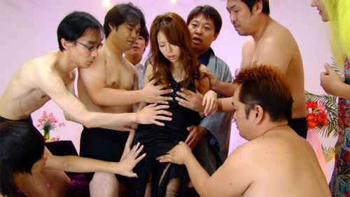 Rino asuka acquires cleansed with jock and cum
