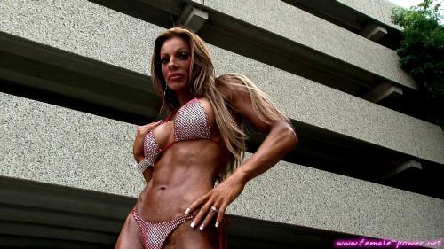 Amy Fargo - Fitness Model Female Muscle