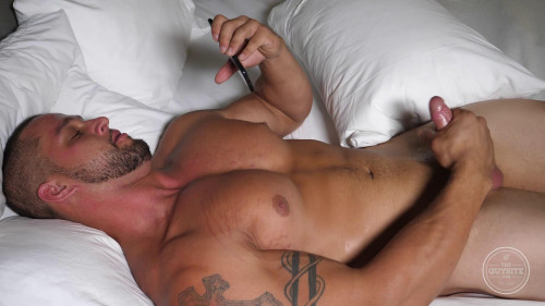 Masturbating Boxer Angelo