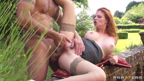 Redhead Mysterious Hottie From Old Europe Anal