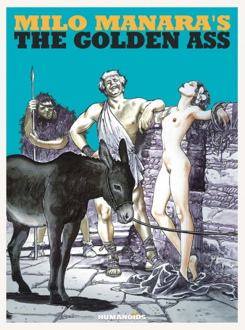 Milo Manaras The Golden Ass Comic