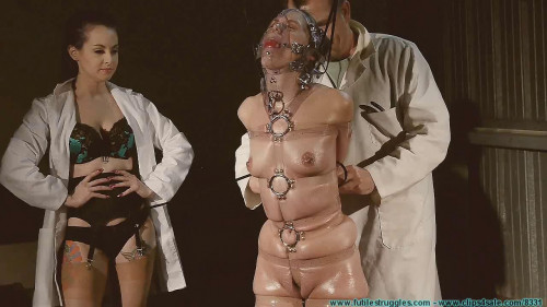 A Long Day of Hard Bondage for Rachel - Clear Straps part 2