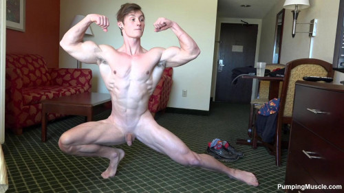 Pumping Muscle - Roger M 9th Photoshoot Gay Unusual