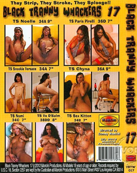 Black Tranny Whackers #17 CD2
