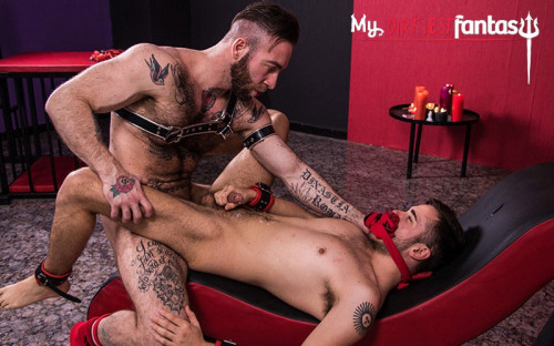 MyDirtiestF - David Luca and Manuel Scalco - Slutty Slave David - Part 2