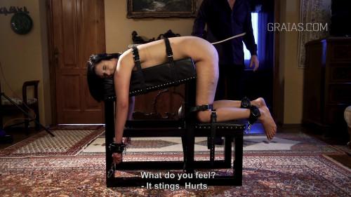 217 Strokes For Sexy Slave Roxy