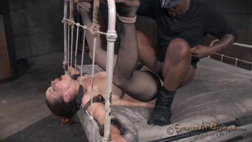Bella Rossi - Bed bound Bella tag team fucked by hard cock (2015)