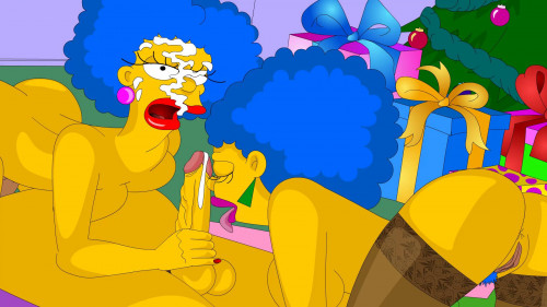 Toon XXX-The Simpsons - Happy New Year! FullHD Cartoon Porn