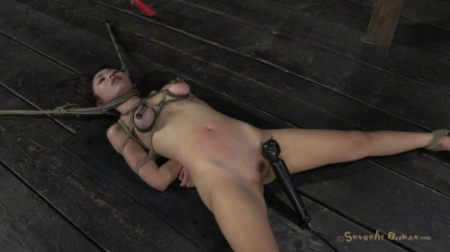 Cute Japanese girl roughly deep throated and Fucked, with wax dripping...