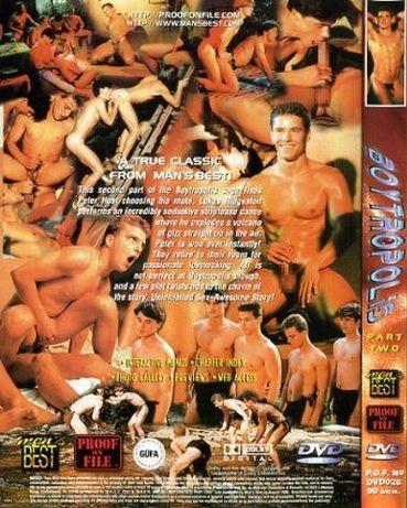 Bareback Boytropolis Part 2 - Peter Host, K. Karlson, P. Lucky Gay Retro
