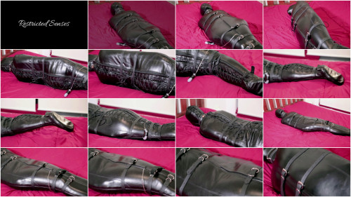 Wrecked Hogtied - Domination HD BDSM Latex